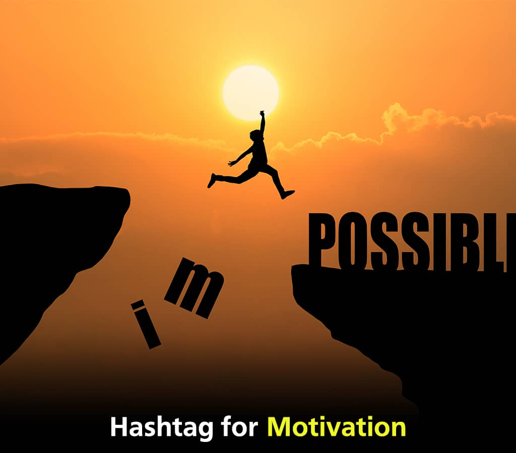 Motivation Hashtags