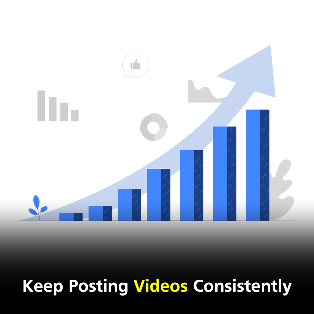 Keep posting videos consistently