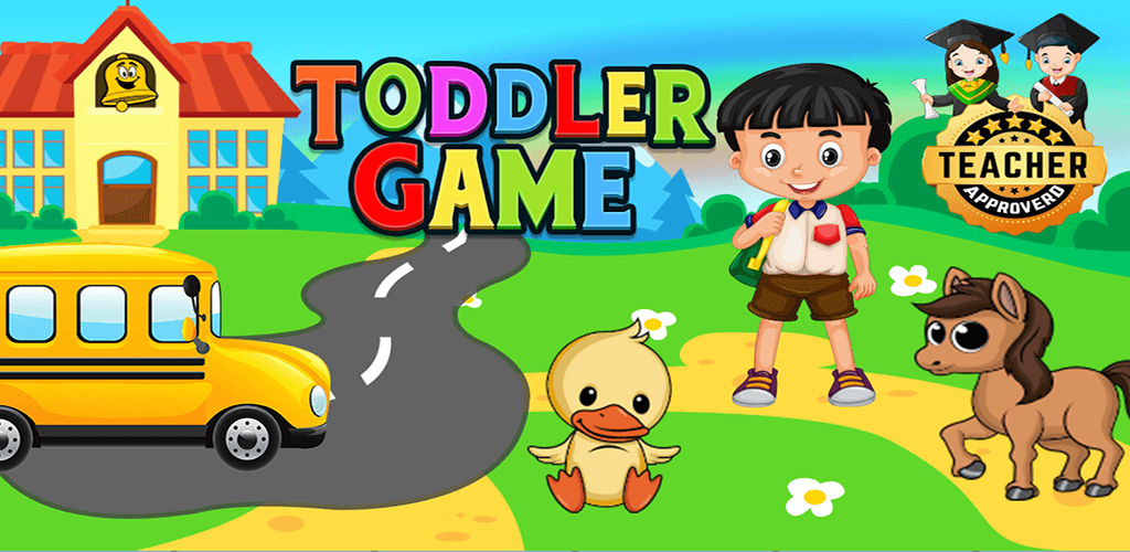 Toddler Games for 2, 3 year old kids